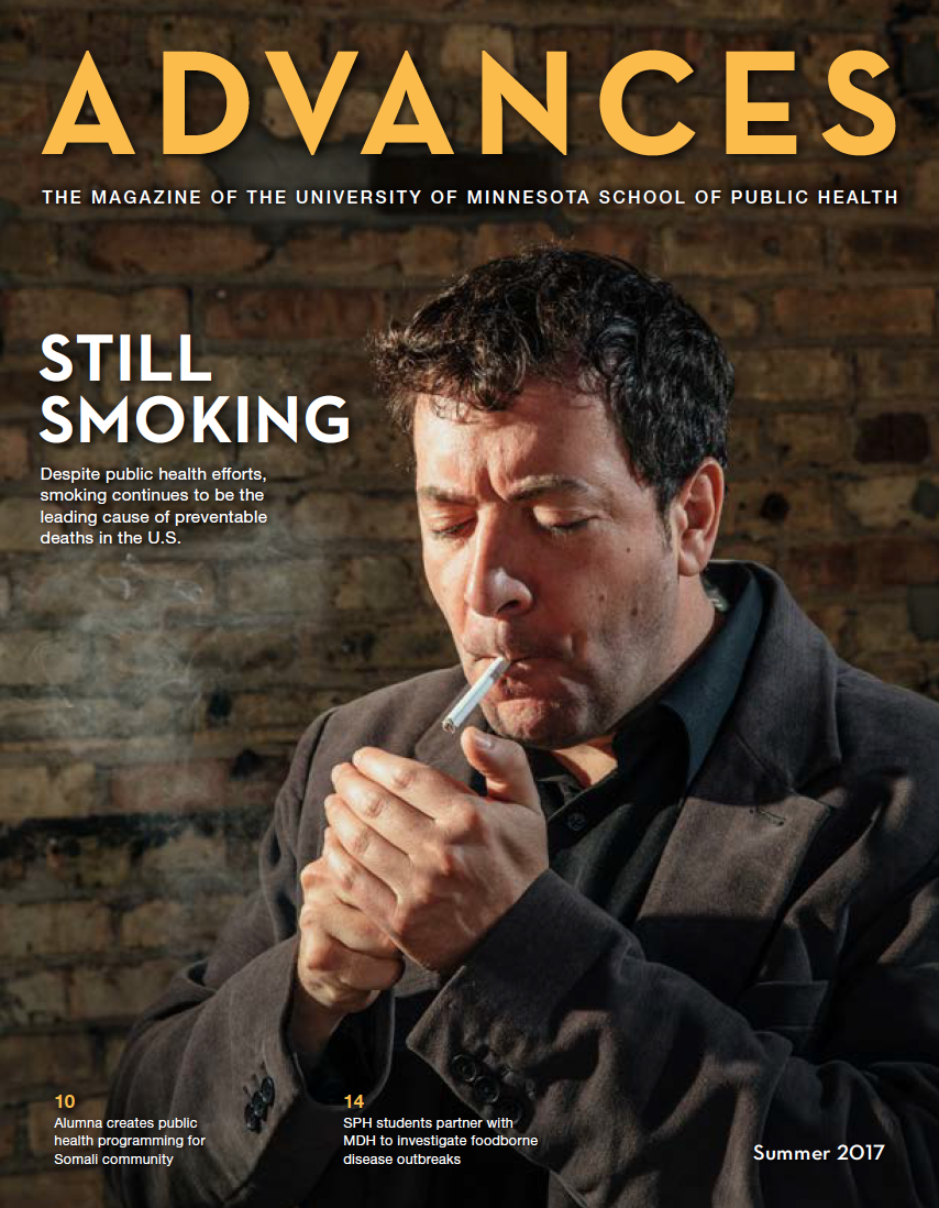 Advances magazine cover