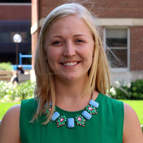 MHA student Ellie Madison
