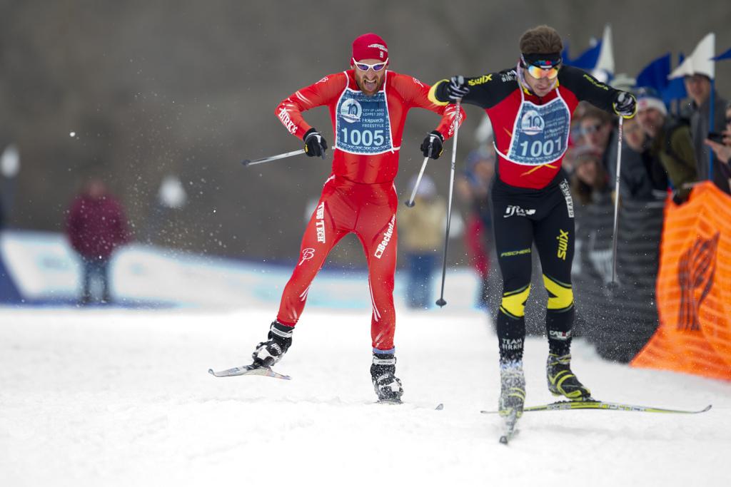 Loppet winter ski festival - cross country skiing