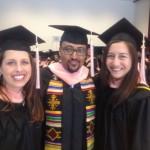 Pharmacy students at graduation