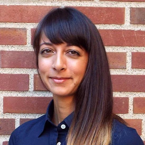 Maria Sundaram smiling