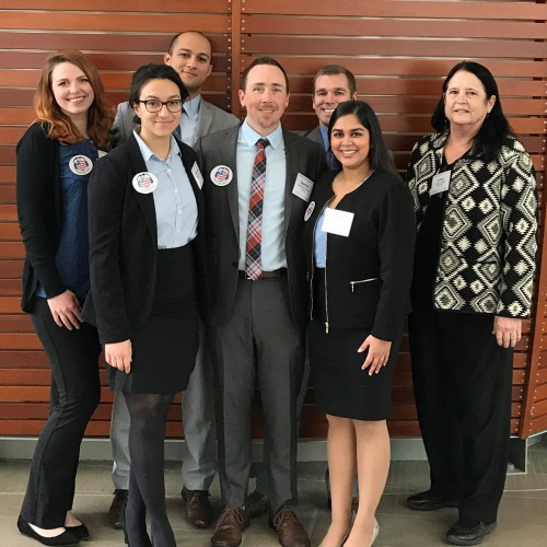 Emory Case Competition team picture