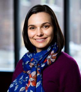Nicole Basta smiling