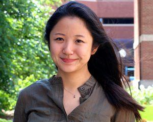 Yang Liu smiling.