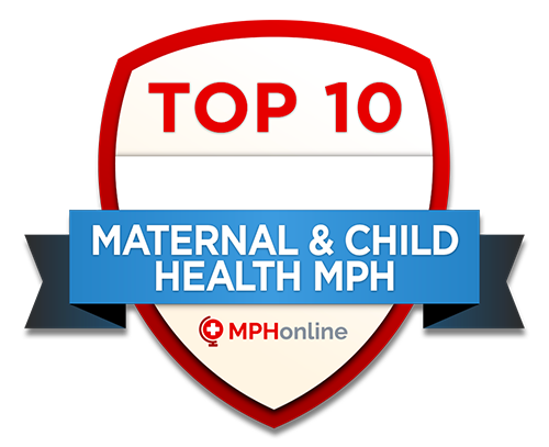 Top Ten, Maternal & Child Health MPH program