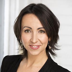 Silvia Balbo smiling