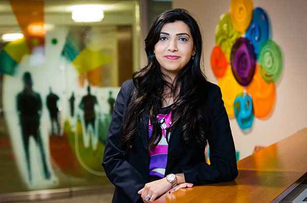 """Luthra was a dentist in her native India and moved to Minnesota in 2015 to enroll at SPH. She plans to supplement her health care knowledge with a degree in management and leadership in the future. """"Before my internship, I had my whole graduate program planned out, now my interests have expanded and I'm looking into other courses,"""" she says. """"I'm able to plan my second year better because I understand more about how the health care industry works."""""""