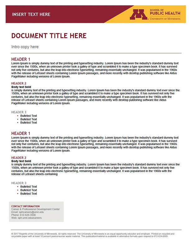 umn thesis template