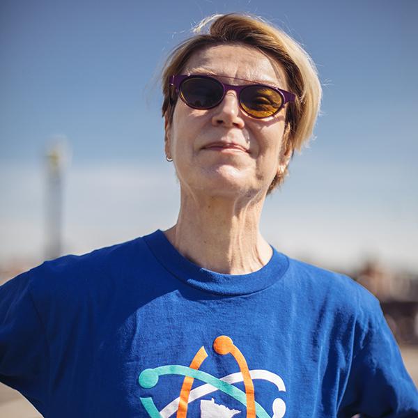 School of Public Health Professor Pam Schreiner
