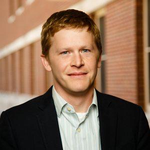 Peter Huckfeldt smiling.