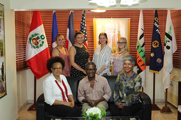 global health work group smiling