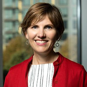 Assistant Professor Susan Arnold smiling