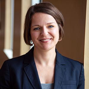 Lauren Gilchrist smiling
