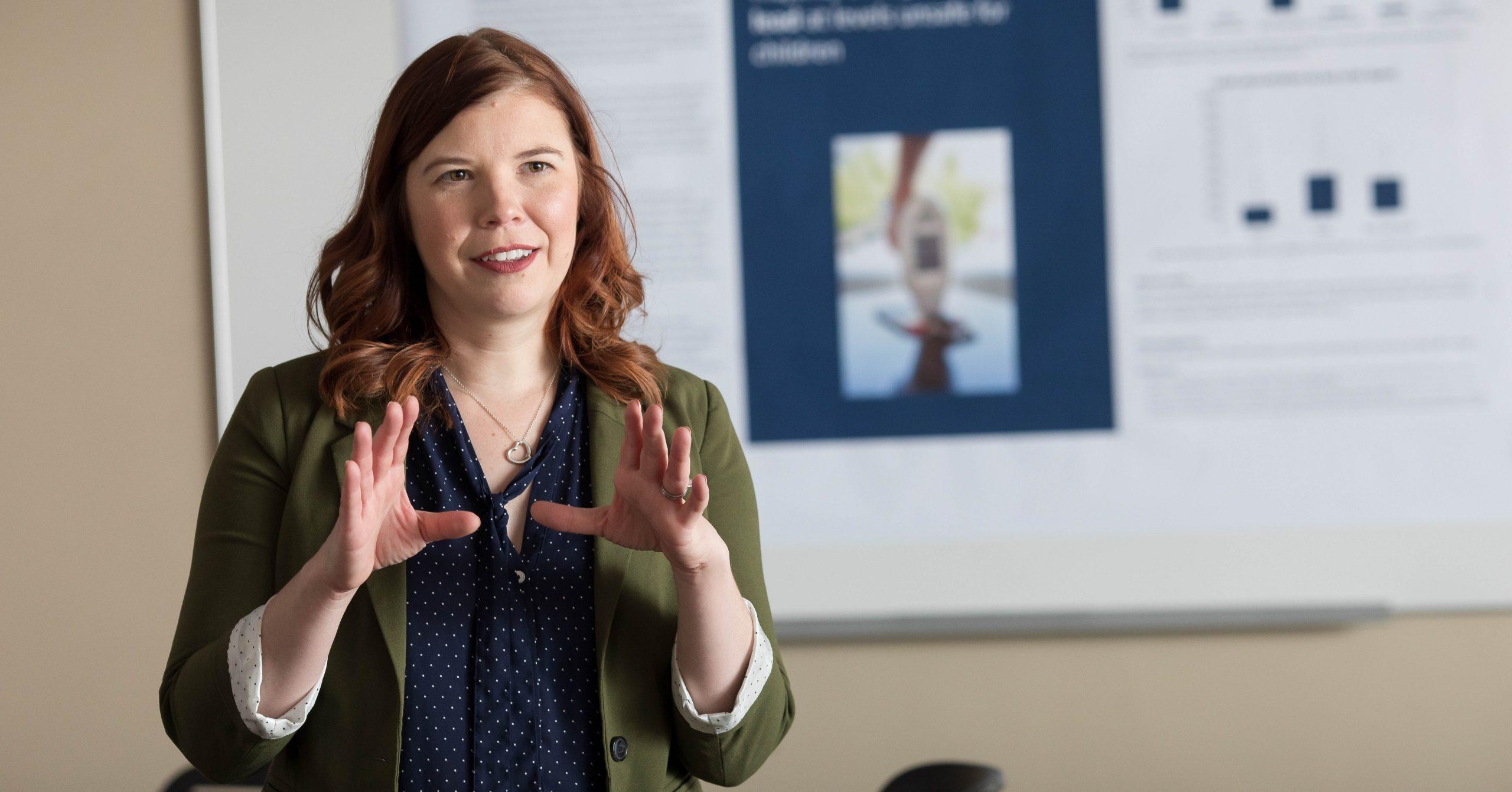 SPH alumna Stephanie Yendell, DVM/MPH