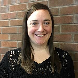 Laura Hooper smiling