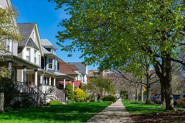 neighborhood street
