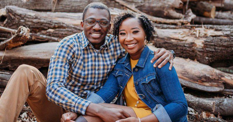 Joseph Akambase and wife