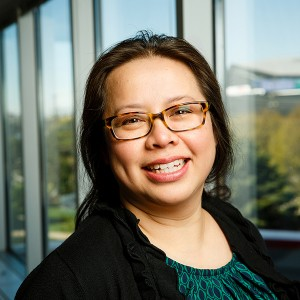 Ruby Nguyen smiling