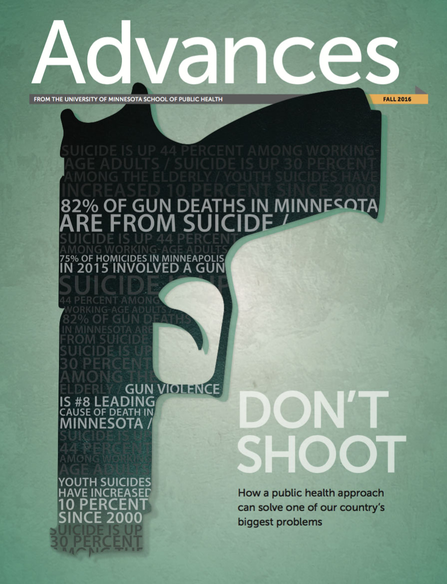 The cover of Advances fall 2016 issue
