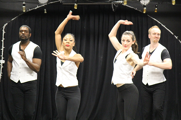Dancers at Taste Diversity event
