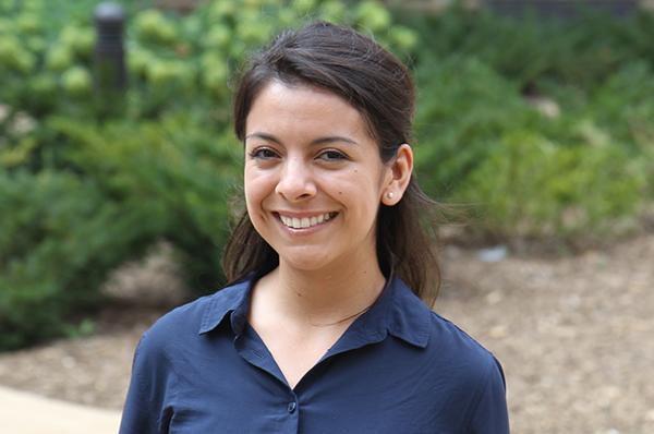 public health student Gabriela