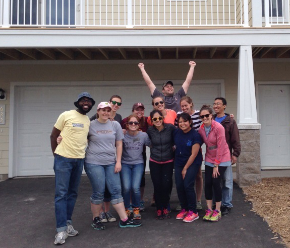 Students Volunteer for Habitat for Humanity