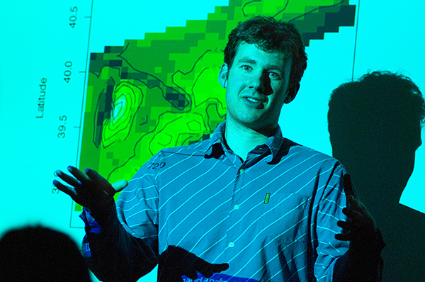 Biostatistics professor Julian Wolfson