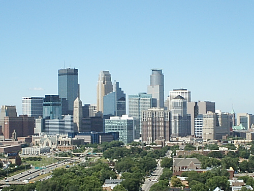 Beautiful Minneapolis Skyline