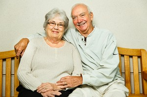 Doris and Lowell Whiteis, age 77 and 78, who were recruited in 1987 as part of the ARIC Study cohort.