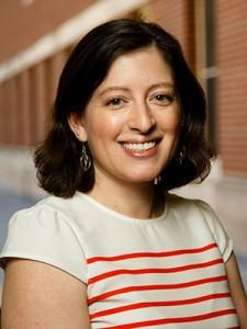 Sarah Gollust smiling