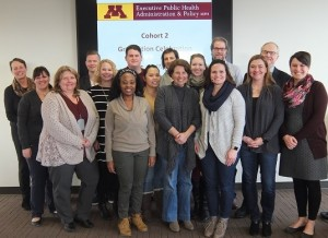 E-PHAP Cohort 2 students pictured with program and school administrators.