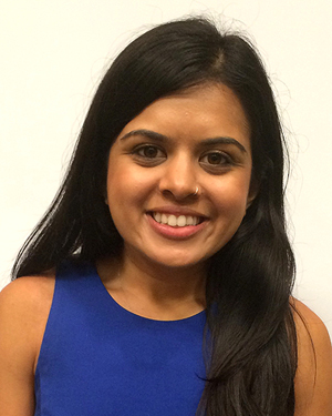 Doctoral student Spruha Joshi.