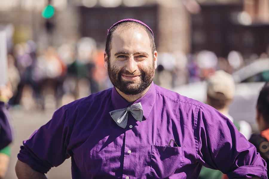 School of Public Health student Adam Schwartz