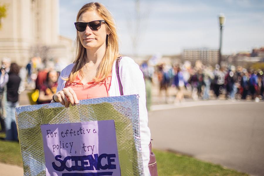 School of Public Health student Emily Groene