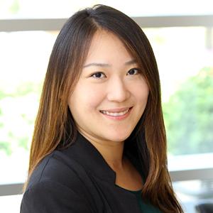 Jiani Yu smiling
